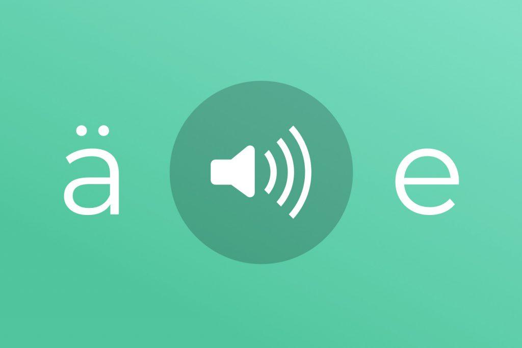 Deutsch Aussprache von ä und e